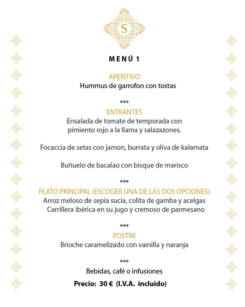 Menús especiales en Sensum Gastrobar en Paiporta