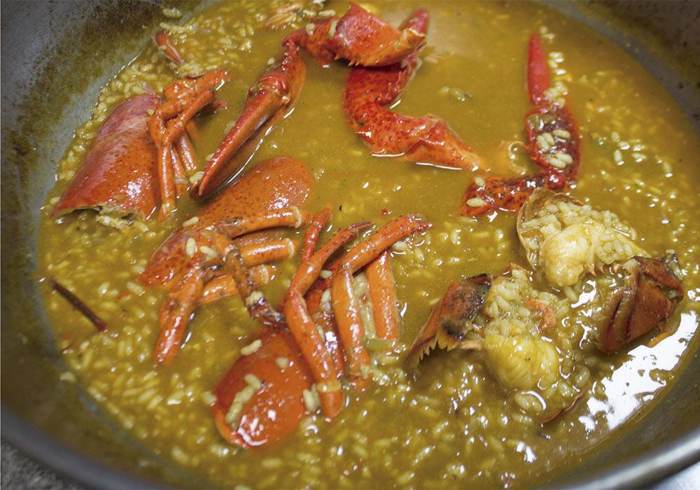 Arroces melosos y caldosos en Sensum Gastrobar, Paiporta